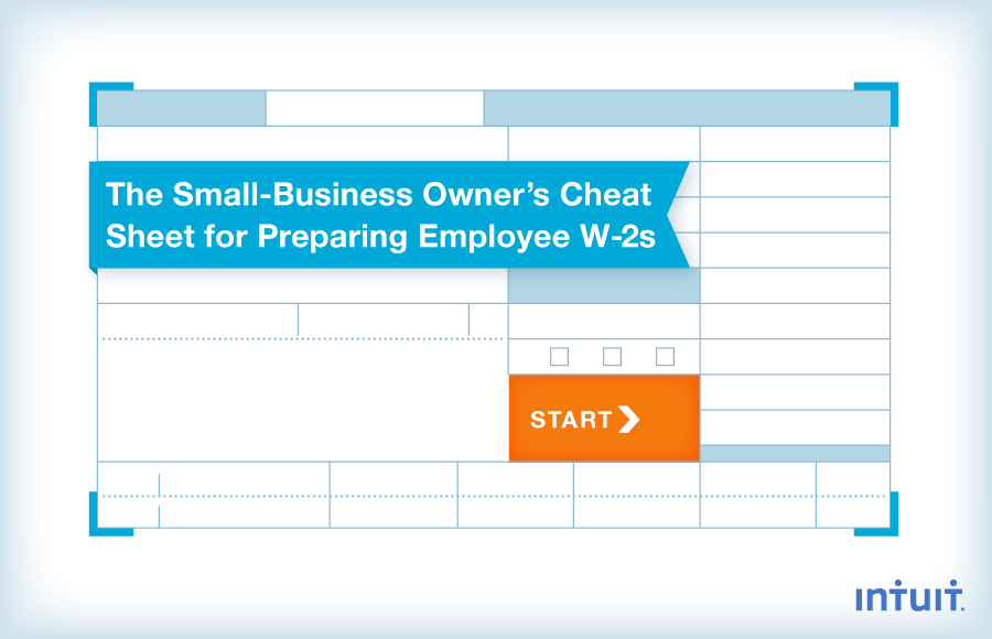 W2 Form - Filing Instructions for Employers by Intuit Payroll