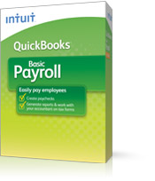 Intuit QuickBooks Desktop Payroll Annual Basic Unlimited Employees