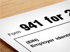 Payroll systems make filing employment taxes, such as Form 941, easy